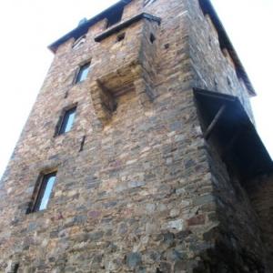 Le chateau de Reinhardstein : le donjon