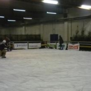 La patinoire indoor