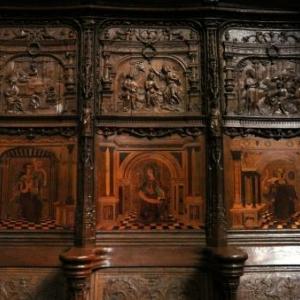 Details des stalles sculptees