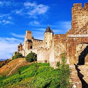 16  La cité de Carcassonne