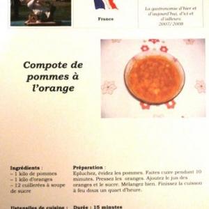 Une recette francaise parmi d'autres ....