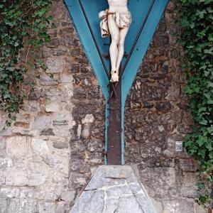 16. La fontaine du Pont d'Al Cute  ( photo F. Detry )