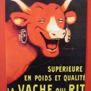 """Theorie de la fractale demontree par la """"vache qui rit """""""