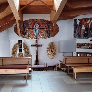 La nouvelle église ( photo : F. Detry )