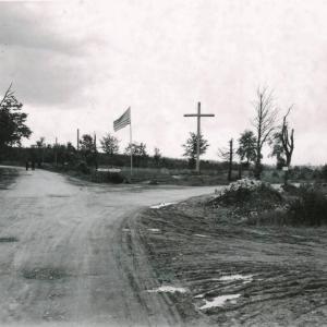 1944  Le site du massacre de Baugnez