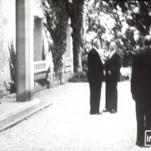 1963 Réception du Chancelier Adenauer
