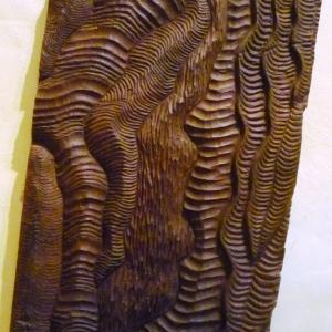 Réalisation du Pedro RECROIX, fondateur du monastère et sculpteur