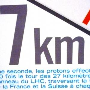 Construction du CERN près de Genève