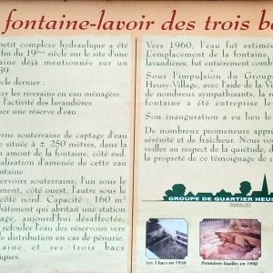 19. La Fontaine des Trois Bacs ( rue des Trois Bacs 4802 Heusy )  ( photo F. Detry )