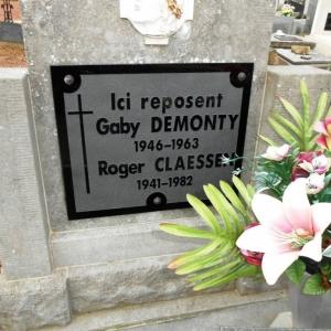 Sa tombe au cimetière de Warsage