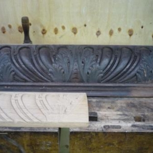 La manufacture d'orgues : la renovation des boiseries