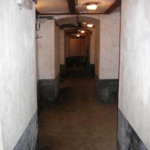 Couloir a l interieur du fort