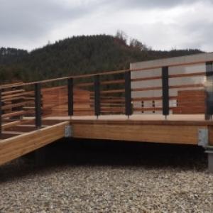 """Salle """" Le Barytage"""" avec acces sur une terrasse exterieure"""