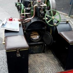 Machine a vapeur en modele reduit