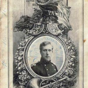 La couverture du souvenir du 7 juin 1908 (© Roger Renard)