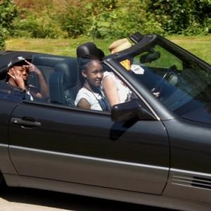 Depart de la balade automobile