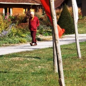 Un stagiaire bouddhiste