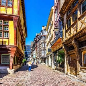 2) Le Vieux Rouen, au charme intact