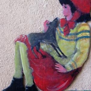 Dans les ruelles de Roubion ( Photo F. Detry )