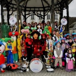 Le cortege du mardi de carnaval