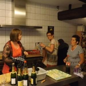 Reception : service cuisine