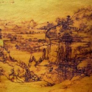 Un paysage peint en situation