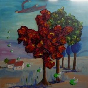 """"""" Ceci n'est pas un arbre """" Surrealisme ( Danielle VERLAINE )"""