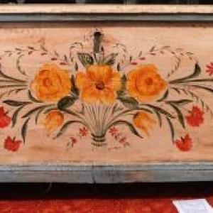 Simone GRANDJEAN ( Peinture sur meubles ) 087. 37 61 21