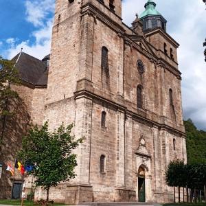 La Cathédrale St Pierre, St Paul et St Quirin