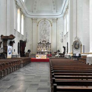 Le choeur de la cathédrale de Malmedy
