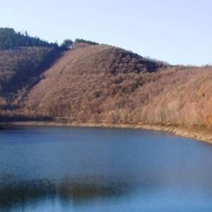 Le lac avant la vidange