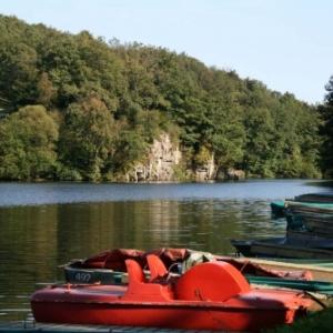 Le barrage de Robertville ( Photo : Marichal-Jacintha )
