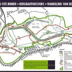Carte des promenades