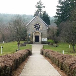 Fleury devant Douaumont : chapelle de ND de l' Europe