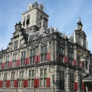 Delft : le splendide hotel de ville