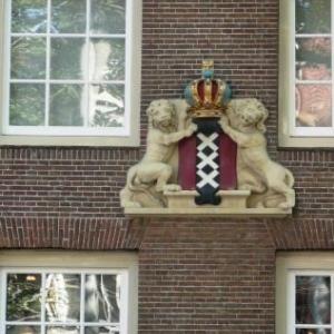 Amsterdam : les armoiries de la ville