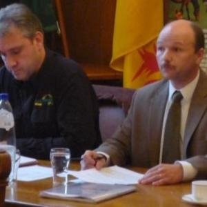 Les Responbsables d' Eifel - Ardenne presentent le programme des 3 journees