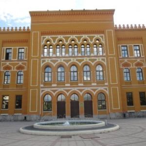 Le gymnasium de Mostar