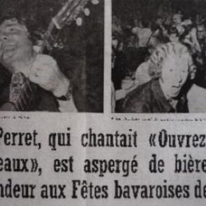 16. L'incident lors du concert de Pierre PERRET