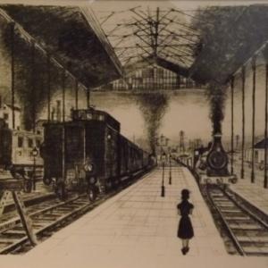 La gare ( P. Delvaux )