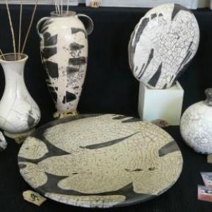 Krystyna LEDUC Sourbrodt ( Ceramique ) 080 / 44 46 98 www.galerielagrange.com