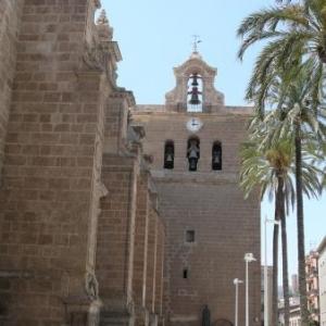 AW 020003 Almeria : la cathedrale - forteresse ( construction de 1550 a 1573 )