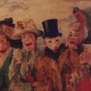 """James ENSOR  """" Les masques """""""