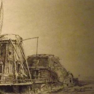 Le moulin a vent ( 1641 )