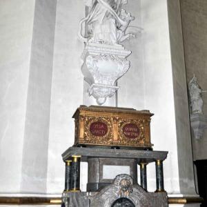 Le reliquaire de la cathédrale de Malmedy