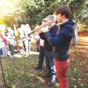 """Intervention musicale par des eleves de l""""Academie"""