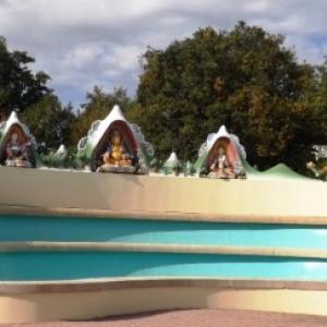 la fontaine de Dzambala