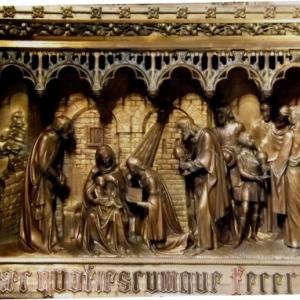 La basilique du Val Dieu Adoration des Mages
