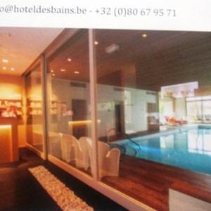 WAIMES :  Hotel des Bains  a Robertville