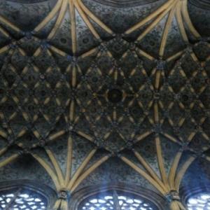 Liege : Cathedrale St Lambert ( decoration de la voute )